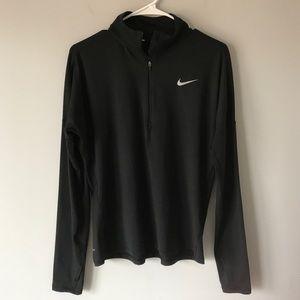 Nike dri fit half zip running performance shirt M